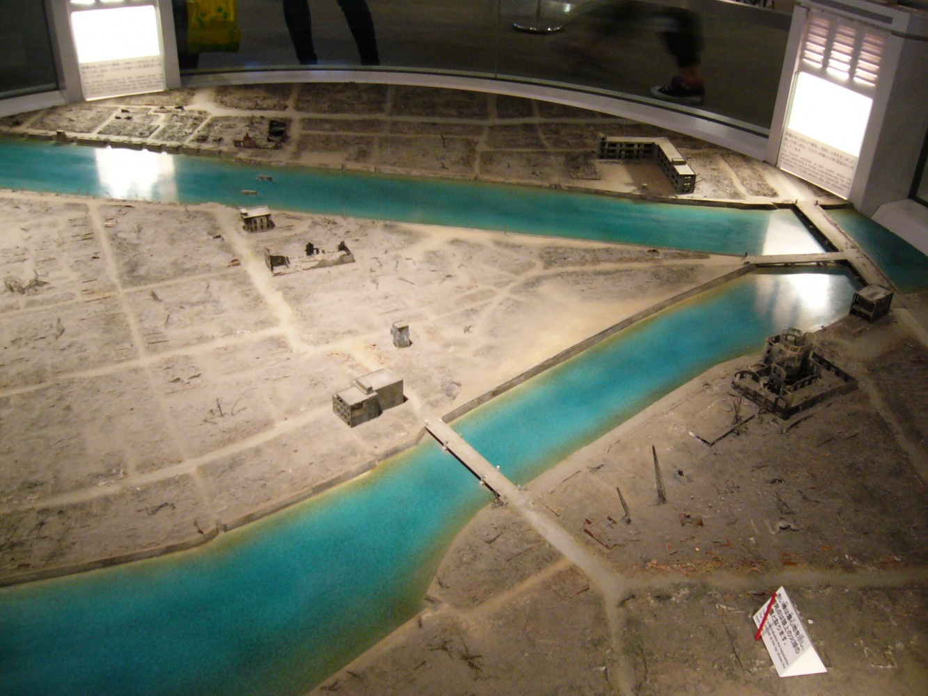 Model of Hiroshima City After 6 August 1945